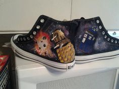 Hey, I found this really awesome Etsy listing at http://www.etsy.com/listing/158668529/custom-doctor-who-shoes-tardis-dalek
