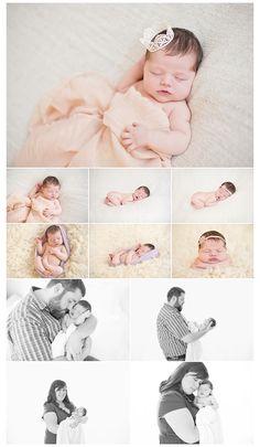 Newborn photography, newborn posing
