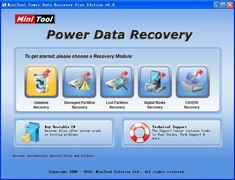 How to execute deleted file recovery with MiniTool Power Data Recovery?