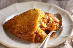 Find the recipe for Confetti Corn Bread–Crusted Shrimp in Creole Filling and other shrimp recipes at Epicurious.com