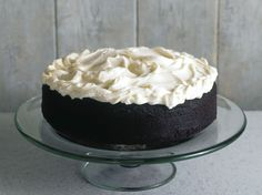 Nigella Lawson's Guinness chocolate cake, from NPR. Nigella Chocolate Guinness Cake, Nigella Lawson Guinness Cake, Nigella Lawson Chocolate Cake, Cake Recipes, Dessert Recipes, Sandwich Cake, Cake With Cream Cheese, Irish Recipes, Gourmet