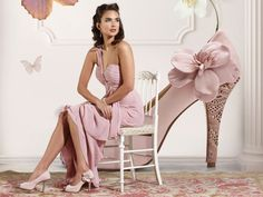 Peep-toe Apple Blossom platform heels from the Hassall Range. Lace cut laser effect and statement flower. Heel height 10.5cm, colour code Suede Rose with Gold Lazorcut.  Rainbow club shoes can be dyed to match a colour of your choice; view the colour range at http://www.mycolourstudio.co.uk/    View more Wedding and Occasion Heels/Shoes from our Rainbow Club Collection at: http://www.baroqueboutique.co.uk/wedding-shoes-and-accessories/    Photograph courtesy of: http://www.rainbowclub.co.uk/