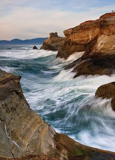 Swept, by Bryan Swan via Flickr Cape Kiwanda, OR