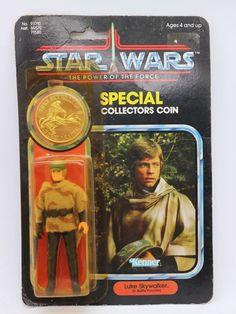 Star Wars Vintage Kenner Luke Skywalker The Power of the Force 92-Back 1984 #Kenner