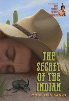 The Secret of the Indian (The Indian in the Cupboard) by Lynne Reid Banks, http://www.amazon.com/dp/0375855246/ref=cm_sw_r_pi_dp_-z.nrb17CQ2WR