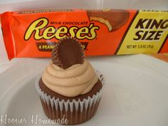Reese's PB Cupcakes. . .Yummy!!!