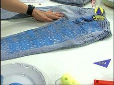 Santa Receita | Aprenda a texturizar sua calça jeans com Caio Von Vogt -...