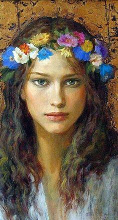 Goyo Dominguez: Serena, via Galeria de Art Puerta de Alcala