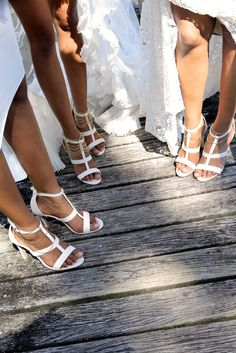 Ivory Heels Bridal Party Gift Pack - Faithful & True Forever Soles Heels. Perfect for you and your bridesmaids! Save money by purchasing gift packs. Click the photo to head to page! xx