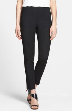 Vince Camuto Side Zip Pants (Regular & Petite) available at #Nordstrom