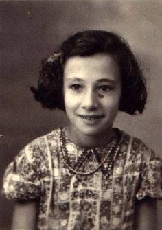 Sylviane Amar age 11 from Sevran, France was sadly murdered in Auschwitz on September