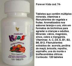 Forever Kids Faça seu cadastro e compre direto da fábrica pelo link https//www.foreverliving.com.br   FLP 550001777465 Patrocinador: Adriano Lobo