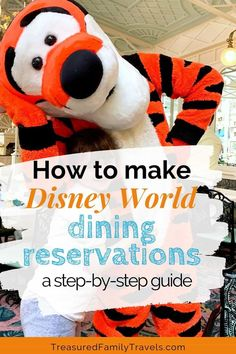 Need to make Disney World dining reservations? This step-by-step guide walks you through exactly how to get your table confirmed! Dining At Disney World, Disney World Food, Disney Dining Plan, Disney World Parks, Walt Disney World Vacations, Disney Worlds, Disney Travel, Best Disney World Restaurants, Disney Cruise