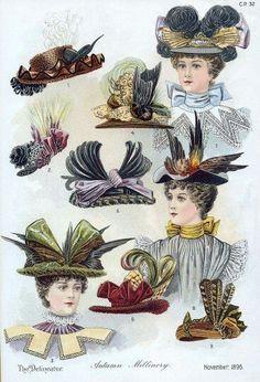Hats, c. 1895