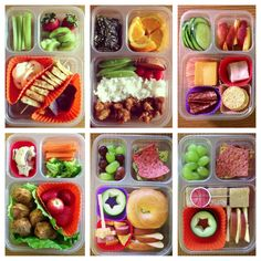 Such a cute little idea and healthy! Lunch Snacks, Healthy Snacks, Healthy Recipes, Toddler Meals, Kids Meals, Kids Lunch For School, School Lunches, Boite A Lunch, Whats For Lunch