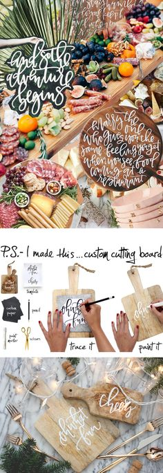These days, cutting boards aren't just for slicing & dicing. Any stylish hostess knows a clean block of wood is the perfect surface for serving everything from beautifully arranged meat & cheese...