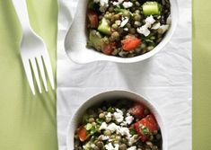 Greek Lentil Salad Recipe | Vegetarian Times