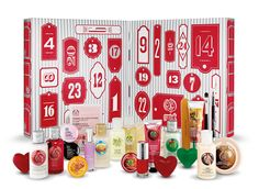 The Body Shop Beauty Advent Calendar ($50, thebodyshop-usa.com) - This calendar has skincare covered, from the store's soaps to its signature seasonally scented lotions and shower gels. #InStyle
