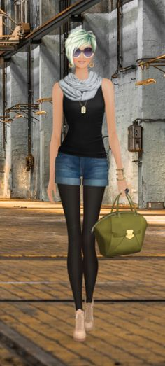 Covet Fashion Game-Challenge-Army Chic