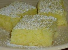 Two Ingredient Lemon Bars Recipe cake mix + 2 cans lemon pie filling + 25 mins = yum