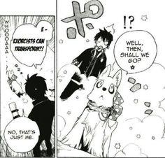 Blue exorcist manga chapter 2