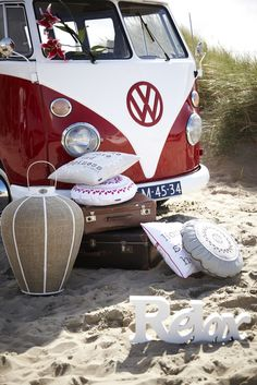 Relax. VW Red Bus. Riverdale