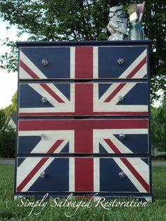 Painted Furniture | Union Jack