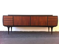 @Soizik ° Smith Italian Sideboard. Midcentury modern this would be a fantasic bath vanity