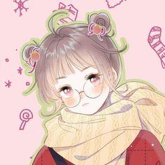 Anime Friendship, Secret Love, Anime Art Girl, In A Heartbeat, Ems, Manga Anime, Chibi, Kawaii, Cute