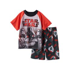 Boys 6-12 Star Wars 2-Piece Pajama Set, Boy's, Size: 6, Multicolor