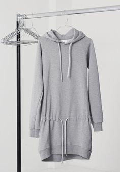 mmies sweatshirt dress Sweatshirt Dress, Hooded Jacket, Kiss, Athletic, Sweatshirts, Jackets, Dresses, Fashion, Hooded Bomber Jacket
