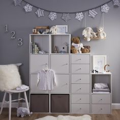 Form Konnect White 1 Cube Shelving Unit alone or add additional cubes to create a storage unit that suits your space & style Baby Bedroom, Baby Boy Rooms, Baby Room Decor, Nursery Room, Girls Bedroom, Baby Room Design, Girl Bedroom Designs, Bedroom Ideas, Cube Shelving Unit