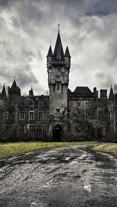 One day I shall visit a gothic mansion.