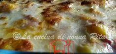 Gnocchi di polenta gratinati - La cucina di nonna Rita