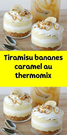 Dessert Thermomix, Banoffee, Snack Box, No Cook Desserts, I Foods, Caramel, Chicken Recipes, Food And Drink, Snacks
