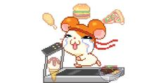 Discover & share this Kawaii GIF with everyone you know. GIPHY is how you search, share, discover, and create GIFs. Pokemon Gif, Hamtaro, Pixel Animation, Rainbow Aesthetic, Aesthetic Anime, Kawaii Cute, Editing Pictures, Cute Gif, Cute Stickers