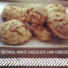 | White Chocolate Chip Cookies, German Chocolate Cake Cookies ...