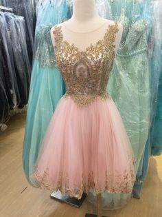 promdresses-dreamprom:  pink lace short prom dress  Follow our... #dress #cute #fashion #modern #design #dresses #gown #prom #longdress #shortdress #cute #dresses #wedding #party #girl #women