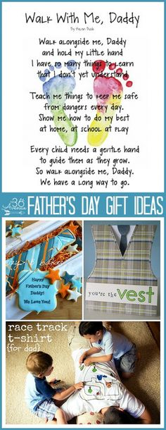Father's Day Gift ... So many cute handmade gift ideas!