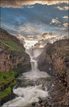 White River Falls, Oregon, USA