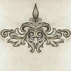 New Tattoo Designs Vintage Ink 28 Ideas Girly Tattoos, Tribal Tattoos, Cool Tattoos, Sternum Tattoo, Chest Tattoo, Back Tattoo, Filagree Tattoo, 22 Tattoo, Tattoo Art