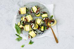 Zucchetti-Involtini - Rezepte | fooby.ch Mozzarella Sticks, Zucchini, Dairy, Cheese, Vegetables, Inspiration, Vegetarian, Zucchini Slice, New Recipes