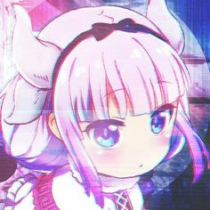 Kobayashi san chi no maid dragon Cool Anime Girl, Cute Anime Pics, Sad Anime, Anime Art Girl, Miss Kobayashi's Dragon Maid, Dragon Girl, Sad Girl Art, Dibujos Anime Chibi, Kanna Kamui