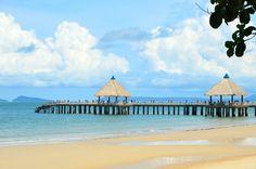 Independance Beach, Sihanoukville Cambodia. Lovely!