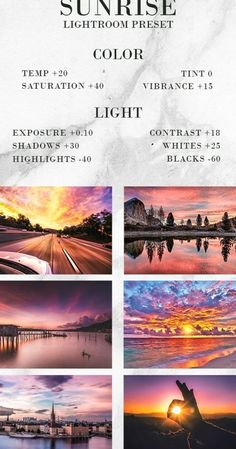 Get Free Free Sunrise Preset Lightroom #photography Photography Settings, Photography Filters, Photography Basics, Photography Editing, Photo Editing, Lightroom Effects, Lightroom Presets, Foto Glamour, Applis Photo