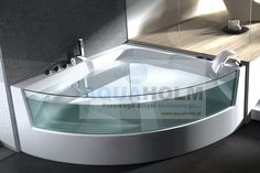 AQUAHOLM ALAG-0838 Wanna z hydromasażem, wymiary 150cm x 150cm x 64cm - sklep MixHurt