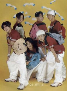 Shinhwa oldschool - who are these people???