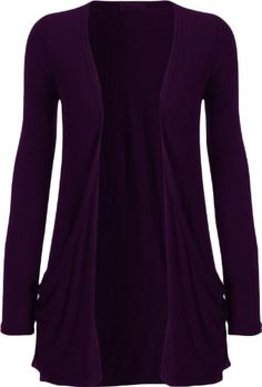 0871628210 Buy Fashion Womens Boyfriend Pocket Cardigan Shrug Sweater at Wish -  Shopping Made Fun