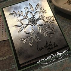 Getting Crafty with Jamie: Vintage love handmade cards with the Excluvisve, Limited Edition Share What You Love bundle from Stampin' UP! this Gotta Have It All Suite is sure to wow with easy fun crafting! Video Tutorial from our Facebook.com/GettingCrafty.net LIVE www.GettingCrafty.net