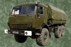 KamAZ-43114 Cargo Truck Free Vehicle Paper Model Download